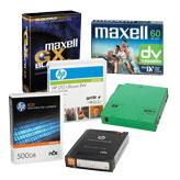 DAT касети, аудио и видео касети