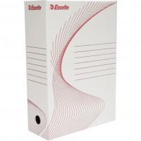 Архивна кутия Esselte, бяла, 100 мм гръб