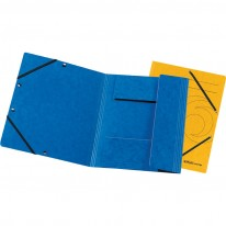 Папка с три капака и ластик Herlitz, A4