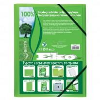 Папка PVC с ластик ЕкоФисто