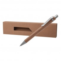 Бамбукова химикалка с кутия PAPB-2+BMB002