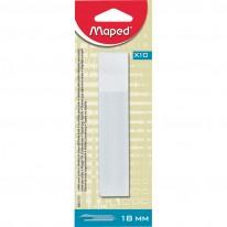 Резервни ножчета Maped, 18 мм, 10 броя