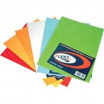 Самозалепваща хартия, цветна, микс, 10 листа