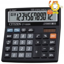 Калкулатор Citizen CT 555 N, 12 разряден