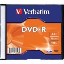 DVD - R диск VERBATIM Matt Silver, 4.7GB, 16x