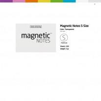 Листчета Magnetic Notes  S, 70 х 50 мм, 100 листа