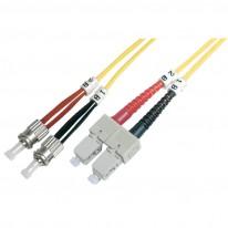Оптичен кабел Assmann Duplex Patch Cord, 50/125μ, 1 м