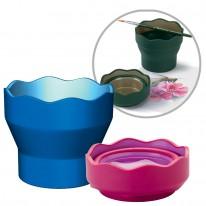 Сгъваема чаша за рисуване Faber-Castell Click & Go