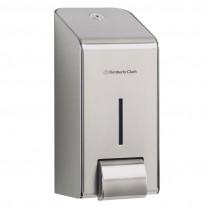 Дозатор за течен сапун и пяна 8973, инокс