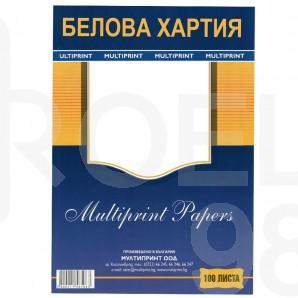 Белова хартия, 60гр./м2, А4, 100 л.