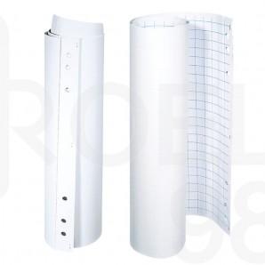 Блок за флипчарт, 20 бели листа 70 гр., 58.5 х 84 см.