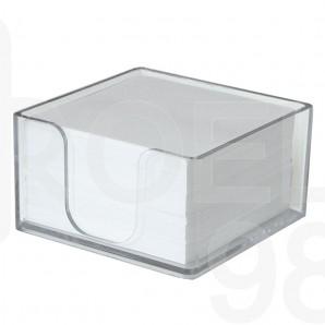 Кубче бяло, 700 л., офсет, в пластмасова поставка