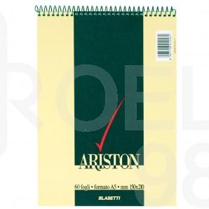 Бележник спирала, Ariston, A5, квадратчета, 60 л.