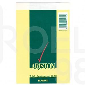 Бележник Ariston, А6, квадратчета, 70 л.