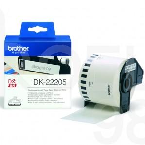 Непрекъсната лента Brother DK 22205, 62 мм