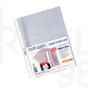 Папка джоб Esselte Flexi Quick А4 матиран с възможност за добавяне към папка
