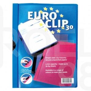Папка с метален външен клип Durable Euroclip, за 30 л.