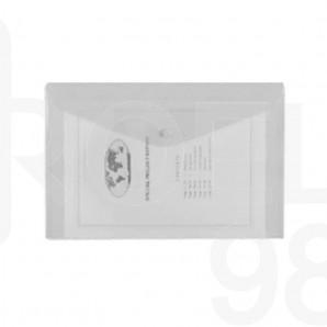 Папка с копче Snopake, A4, безцветна