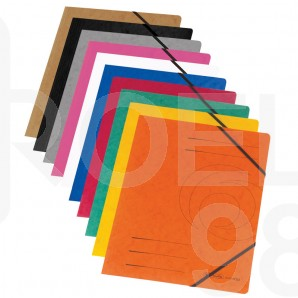 Папка с ластик Herlitz Colorspan