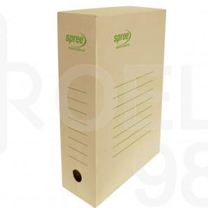 Кутия архивна Spree, кафява, 100мм