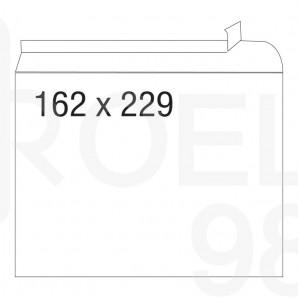 Плик, СЗЛ, C5, 162 х 229 мм, дълга страна, 100 бр./оп.