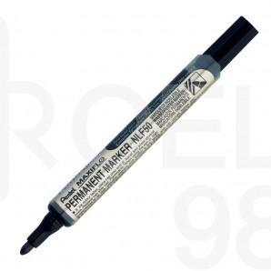 Маркер Pentel NLF50, объл връх, перманентен