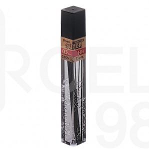 Графити Pentel Hi-Polymer Super, 0.5 мм, 12 бр.