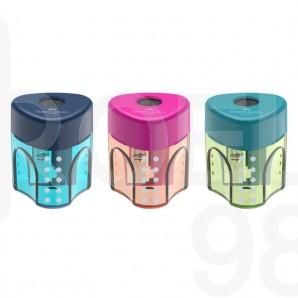 Острилка Faber-Castell Trend Auto, единична, микс цветове