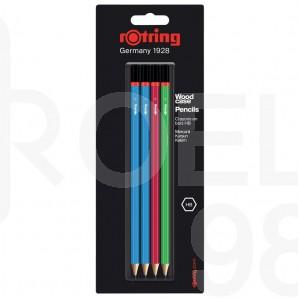 Молив Rotring Core, 4 броя на блистер