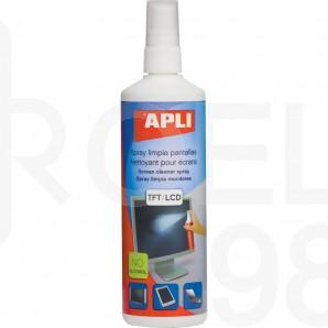 Спрей за почистване Apli на TFT/LCD екрани, 250 мл.