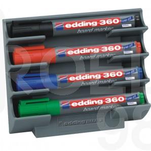 Поставка за маркери за бяла дъска Edding BMA 3