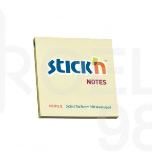 Самозалепващи листчета Stick`N, пастел, 76 x 76 мм