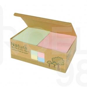 Самозалепващи листчета, Nature box, 75 x 75 мм