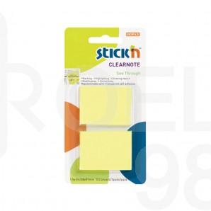 Индекси Stick'N, неон, 38х51мм, 2 цвята по 100 л.