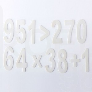 Пластмасови цифри Filipov за 1-ви клас, комплект