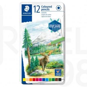 Акварелни моливи Design Journey 146, 12 цвята