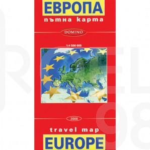 Сгъваема пътна карта, Европа, 1 : 3 000 000