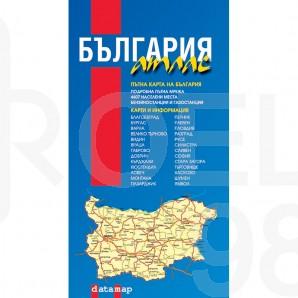 Карта-атлас на България, 1 : 380 000