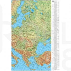 Ptna Karta Na Evropa 1 3 500 000 Roel 98