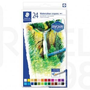 Акварелни пастели Design Journey 223, 24 цвята