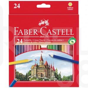 Моливи Faber-Castell Замък, 24 цвята