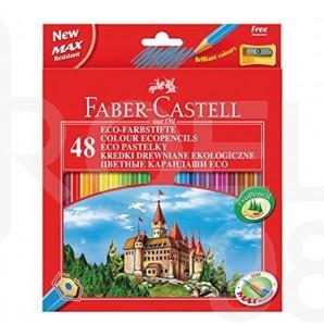 Моливи Faber-Castell Замък, 48 цвята