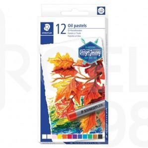 Маслени пастели Design Journey 2420, 12 цвята