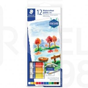 Акварелни бои Design Journey 8880, 12 цвята