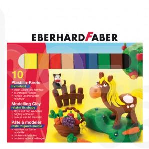 Пластелин Faber-Castell, 10 цвята