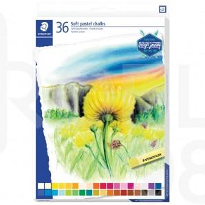 Маслени пастелни тебешири Design Journey 2430, 36 цвята