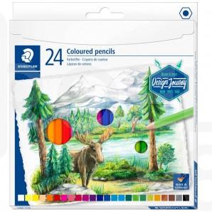 Акварелни моливи Design Journey 146, 24 цвята