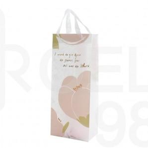 Торбичка подаръчна, 13,5х8.5x33 см, Flowers