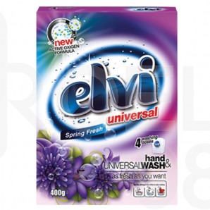 Прах за пране Elvi, универсален, 0.400 кг.