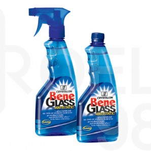 Почистващ препарат за стъкло Bene, с помпа, 0.500 л.
